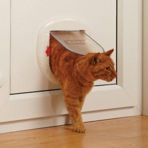 Дверца Staywell для больших кошек и мелких собак