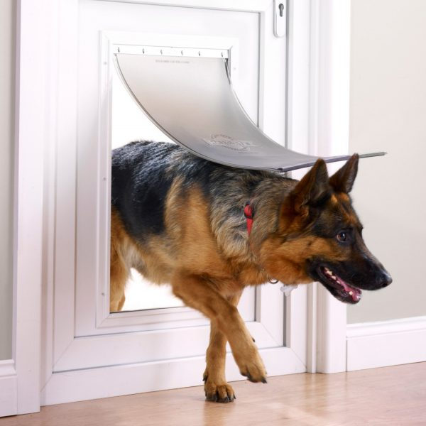 Дверь Staywell алюминиевая для кошек и собак