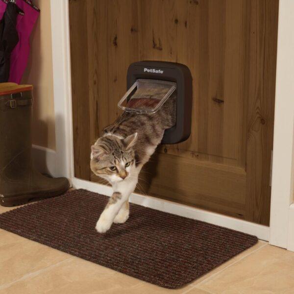 Дверца для кошек с микрочипом