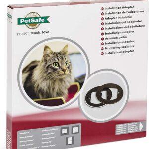 Установочный адаптер для дверей PetSafe с микрочипом и 4-х позиционным замком