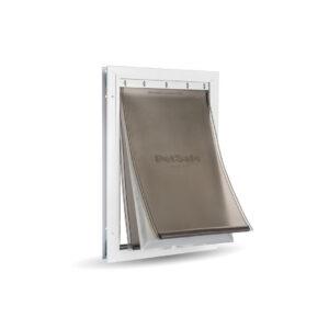 Дверь PetSafe утепленная для очень холодной погоды, алюминиевая  XL